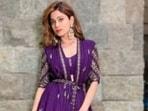 Shamita Shetty, in a <span class='webrupee'>₹</span>42K ensemble, drops cues of ethnic fashion(Instagram/@shamitashetty_official)