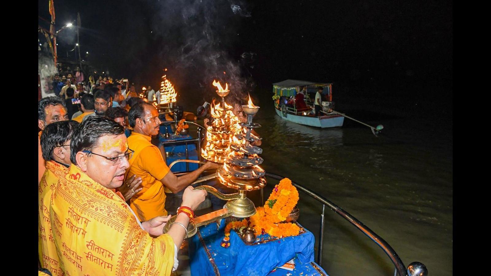 Politics and religion were never separate, says Uttarakhand CM