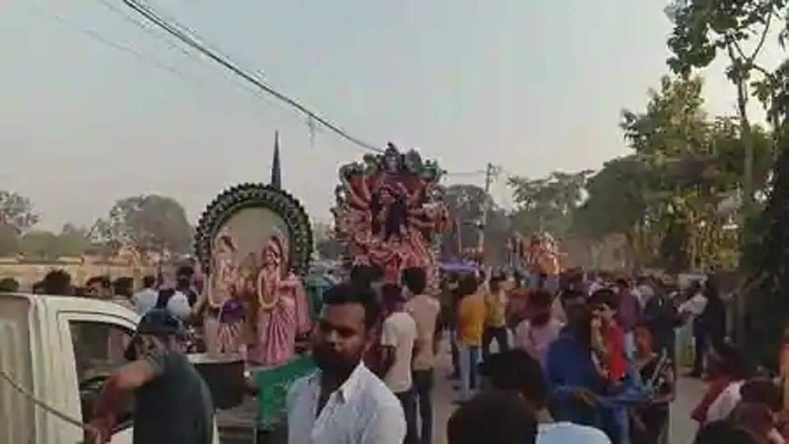 Uttar Pradesh: Four die in Durga idol immersion mishaps in Pratapgarh, Prayagraj