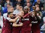 Premier League: West Ham snatch battling win at Everton(REUTERS)