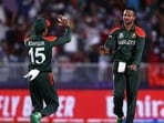 Shakib Al Hasan overtakes Lasith Malinga to be leading wicket-taker in men's T20Is((Twitter/T20WorldCup))