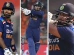 'His mood suddenly changes and he steps out for big hits': Salman Butt says 'predictable' India batter needs a 'mature' mindset.(AGENCIES/HT COLLAGE)