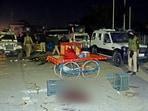 Arvind Kumar Sah from Bihar was killed in Srinagar's Eidgah area and Sageer Ahmad, a carpenter from Uttar Pradesh, in the Pulwama district.(ANI Photo)
