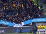 Part of stand at Dutch club Nijmegen collapses, no injuries(TWITTER/SCREENGRAB)