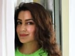 Tisca Chopra, in a green ensemble, is 'making the most of' her Sunday(Instagram/@tiscaofficial)
