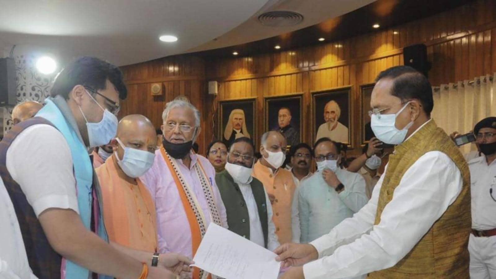 Uttar Pradesh deputy speaker election: Backed by BJP, plain sailing likely for Nitin Agarwal