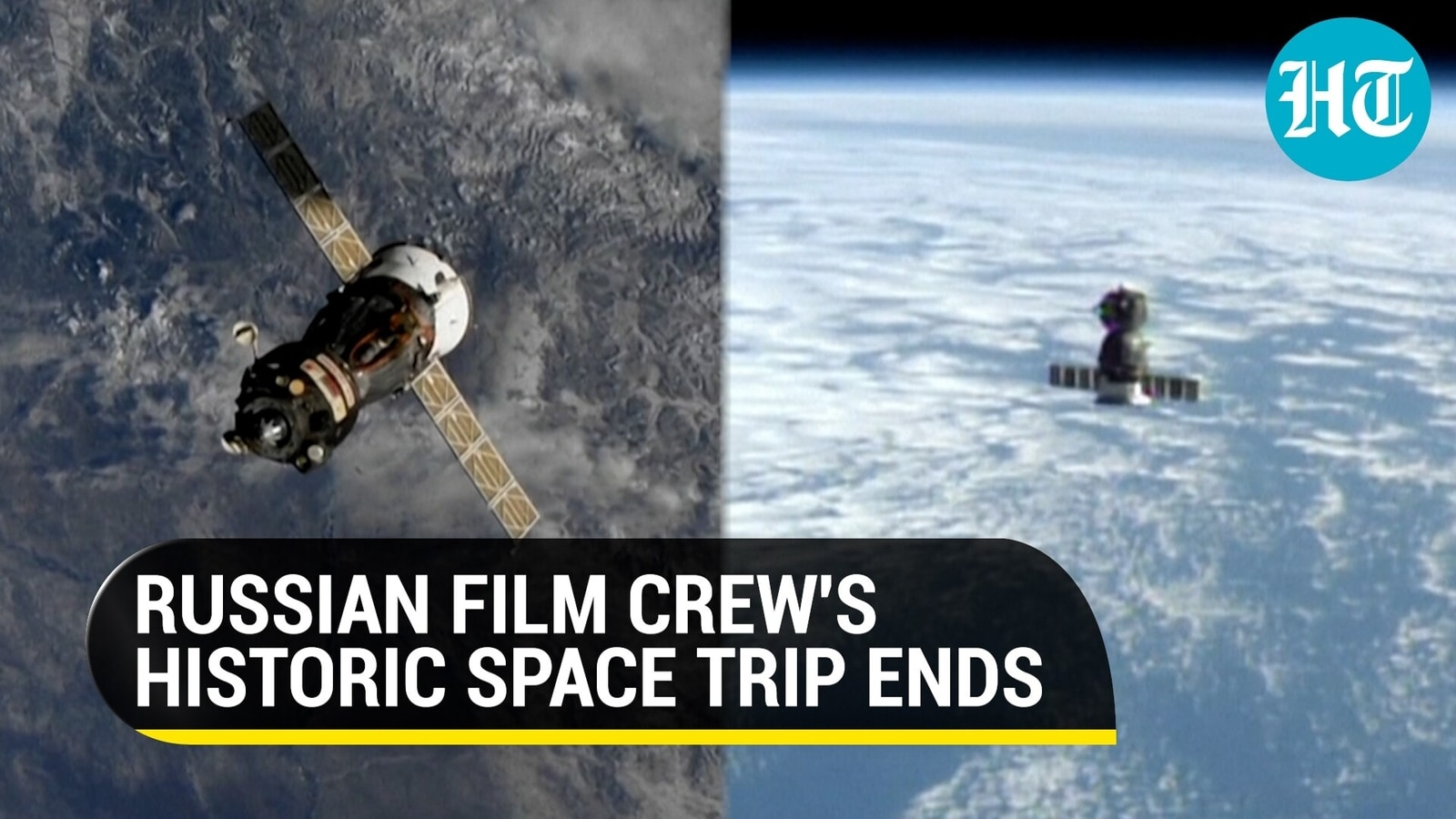 Space travel comes to an end: Russian actor returns to Earth after director shoots movie in orbit