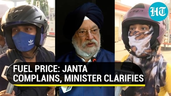 As commuters complain about rising petrol and diesel prices, Union minister Hardeep Puri said the 'levers' which control costs are in other entities' hands (ANI)