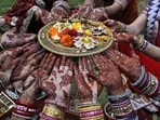 Karva Chauth 2021: When is Karva Chauth? Here's all you need to know(AP Photo)