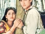 Juhi Chawla and Aamir Khan starred in Qayamat Se Qayamat Tak (1988).(HT Photo)