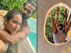 Shahid Kapoor and Mira Rajput are holidaying in the Maldives and making the most of their stay at a beach resort.