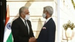 Following his meeting with Lapid in Jerusalem, Jaishankar said the two countries were looking forward to finalising the agreement by the middle of next year. (@DrSJaishankar/Twitter)