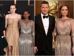 Zahara Jolie-Pitt wears mom Angelina Jolie's 2014 Oscars gown to Eternals premiere