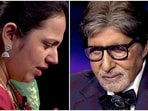 Amitabh Bachchan played peacemaker between a contestant and her father.