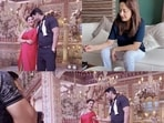Glimpses from Madhuri Dixit's new video.