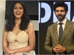 Mrunal Thakur and Kartik Aaryan stepped out in the city for the trailer launch of their upcoming film Dhamaka. The two stars play journalists, and their trailer received a warm response from fans. For the event, both Mrunal and Kartik came dressed in classy ensembles. We loved their looks.(HT Photo/Varinder Chawla)