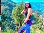 Janhvi Kapoor is a travel enthusiast and her Instagram handle says it all. In her latest vacation pictures, the Roohi actor can be seen having a gala time with her friends in Mussorie.(Instagram/@janhvikapoor)