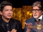Shaan and Amitabh Bachchan on Kaun Banega Crorepati 13.
