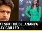 NCB AT SRK HOUSE, ANANYA PANDAY GRILLED