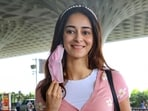 Ananya Pandey was summoned by the NCB for interrogation in the Aryan Khan case.(PTI)
