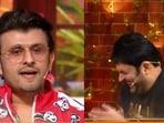Sonu Nigam leaves Kapil Sharma in splits.