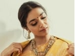 Keerthy Suresh keeps setting higher fashion goals for us. Be it a casual attire or a traditional six yards of grace, when Keerthy adorns one, she makes it look better. On Wednesday, Keerthy was engrossed in celebrating her love for yellow with a set of stunning pictures on her Instagram profile.(Instagram/@keerthysureshofficial)