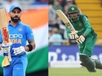India and Pakistan skipper Virat Kohli and Babar Azam(Getty Images)