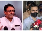 The animosity between Nawab Malik and Sameer Wankhede can be traced back to the arrest of Nawab Malik's son-in-law.