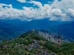 Sikkim Chief Minister Prem Singh Tamang on Thursday urged the people not to travel in view of the landslides as the state registered a record tourist footfall during the Durga puja vacation.(Unsplash)
