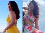 Tahira Kashyap aces beachwear goals in yellow bikini, halter bralette top-skirt(Instagram/tahirakashyap)