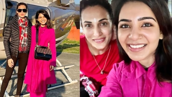 New pics of Samantha Ruth Prabhu from her holiday.
