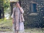 Samantha Ruth Prabhu at the Beatles Ashram in Rishikesh(Instagram)