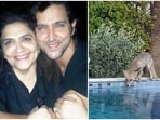 Hrithik Roshan shared a message for his mother Pinkie Roshan on her birthday.