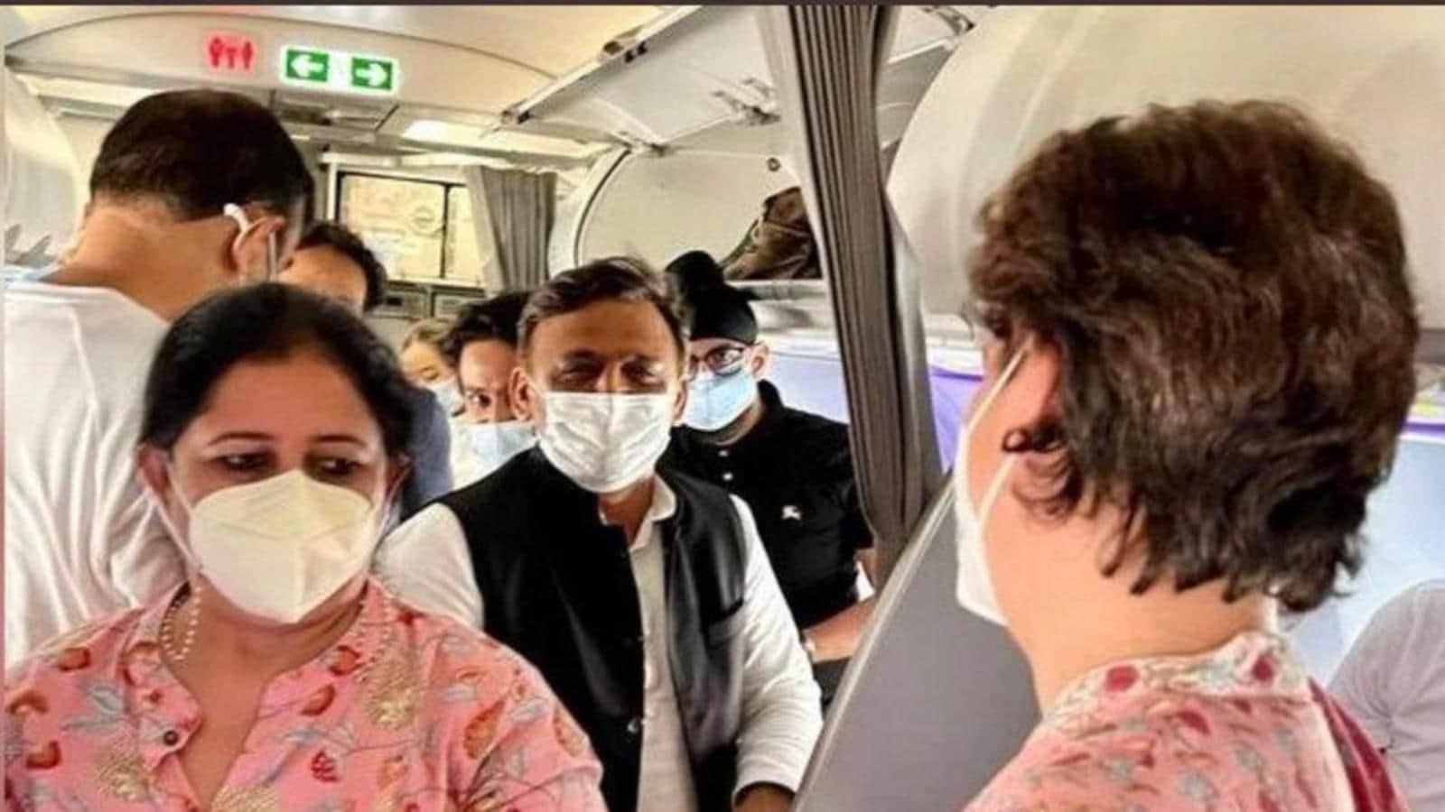 No politics in chance meeting between Akhilesh, Priyanka on flight: Samajwadi Party, Congress leaders