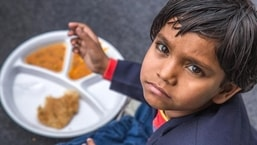 The PM Poshan Shakti Nirman or PM POSHAN scheme promises to provide nutrition for 24 lakhs, additional children, in pre-primary classes, along with interventions like nutri-gardens in schools and promotion of locally grown traditional food items.(Getty Images for representation)