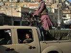 Taliban fighters patrolling along a street in Kabul (AFP/Image used only for representation)