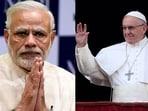 PM Modi will meet Pope Francis next week.(HT)