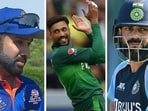India vs Pakistan: Virat Kohli or Rohit Sharma, who holds key against PAK in T20 World Cup match? Pacer Mohammad Amir reveals his pick(AGENCIES/HT COLLAGE)