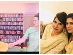 Amarinder Singh shared purported photos of Aroosa Alam with Sonia Gandhi and former Punjab DGP Mohammad Mustafa's family members.