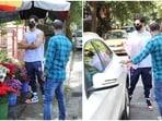 Ishaan Khatter paid rumoured girlfriend Ananya Panday a visit.