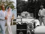 Vin Diesel walks Meadow Walker down the aisle at her wedding.
