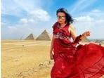 Mini Mathur is 'feeling like a microscopic dot' in Egypt. Here's why(Instagram/@minimathur)