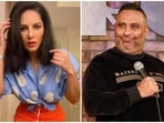 Sunny Leone said that she was once in a relationship with Russell Peters.