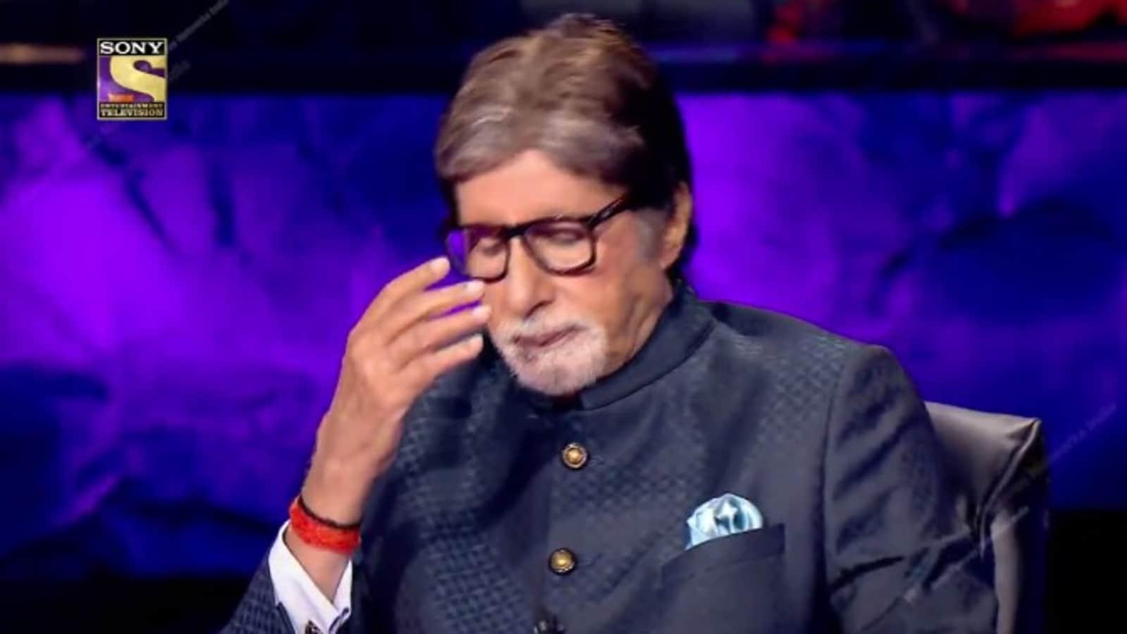 KBC 13: Amitabh Bachchan says 'koi bachayega humko' as contestant won't stop talking about marital problems, watch