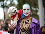 Halloween is almost here and people all over the world have started organising pre-Halloween parties, competitions, parades and events. On this day, people dress in scary costumes and hit the streets. It is believed that supernatural beings, or the souls of the dead, roamed the earth at this time.(AFP)