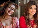 Karva Chauth 2021: Sonali Bendre recycles 19-year-old wedding lehenga, Shilpa Shetty wears red