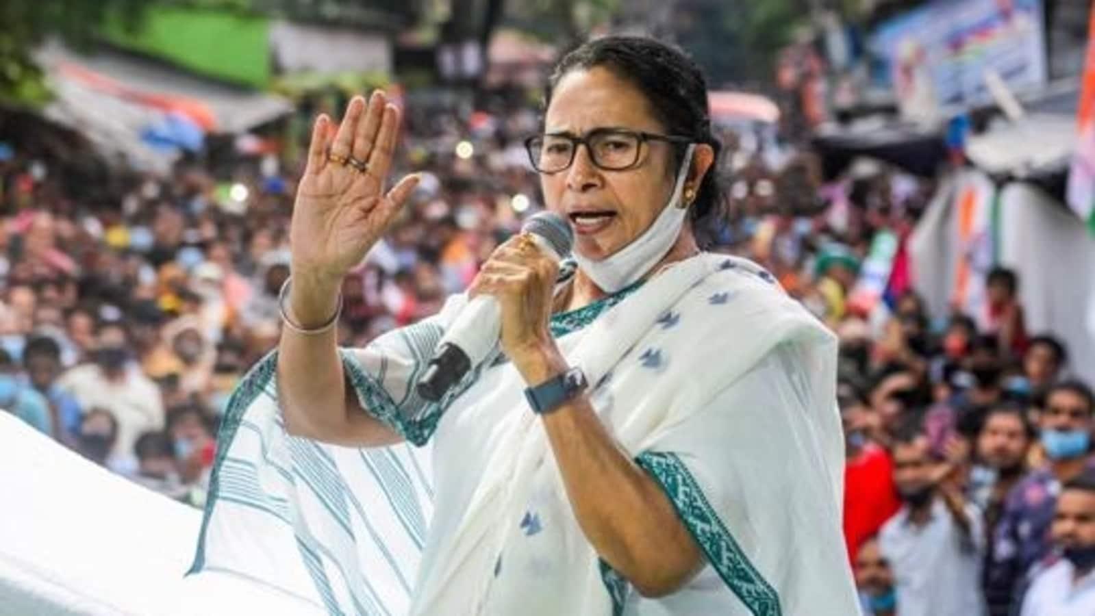 Trinamool protests against rising fuel prices in Kolkata
