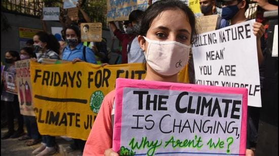 The decision to launch the programme shows India's intent at COP26 (Raj K Raj/HT PHOTO)