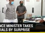 Defence Minister takes officials by surprise