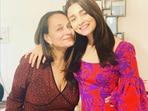 Soni Razdan with her daughter Alia Bhatt.